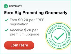 Join Grammarly affiliate program