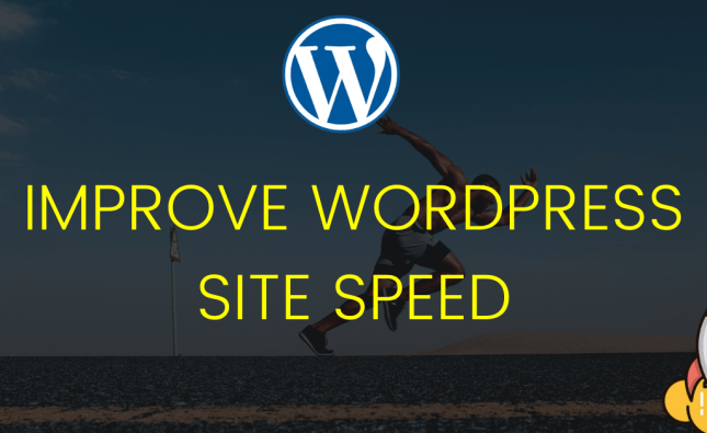 reduce loading time of WordPress