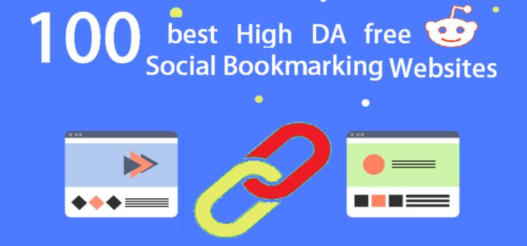100 Free High DA Social Bookmarking Sites List 2021