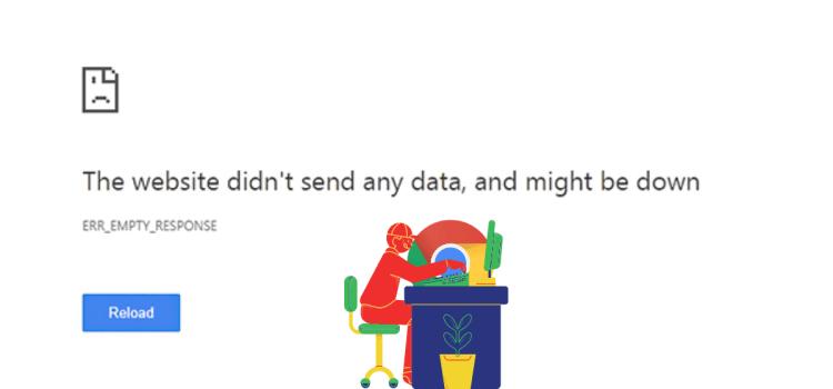 How to Fix Err_Empty_Response Error in Chrome