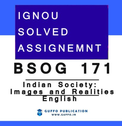 BSOG-171 SOLVED ASSIGNMENT 2020