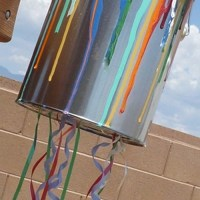 Paint Can Pull-String Pinata