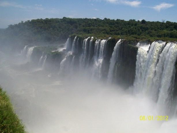 El vapor de las Cataratas del IGuazú