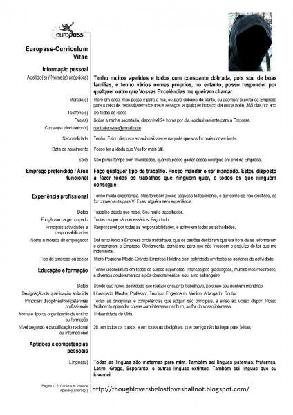 50 Modelos De Curriculo Pronto Para Preencher E Imprimircarta De