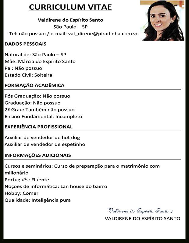 Curriculum Vitae Ejemplos 2013 Sample Cover Letter For Job