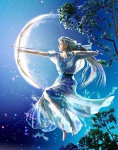 guia-da-alma-diana-artemis-lua e o signo de Câncer