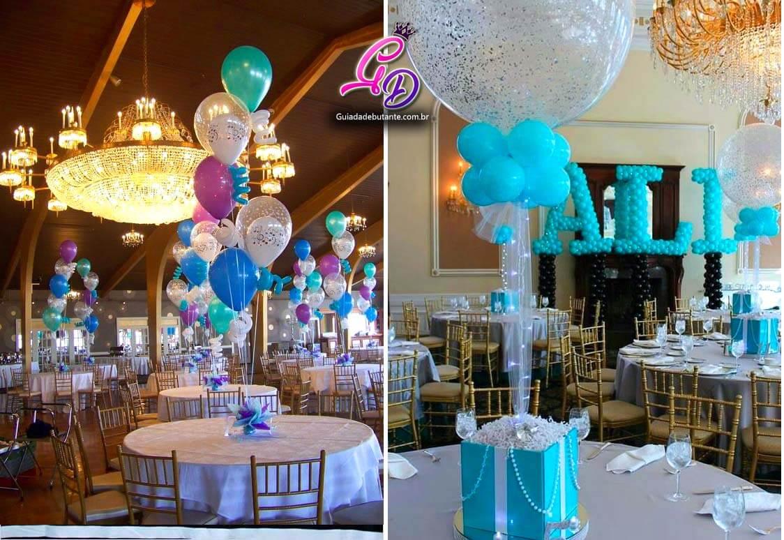 Aprenda A Usar Balões Na Decoração Da Sua Festa De 15 Anos
