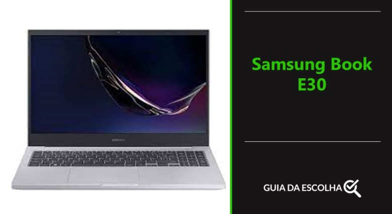 notebook modelo Samsung Book E30