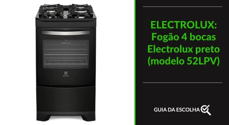 Fogão Electrolux indicando uma das melhores marcas de fogão