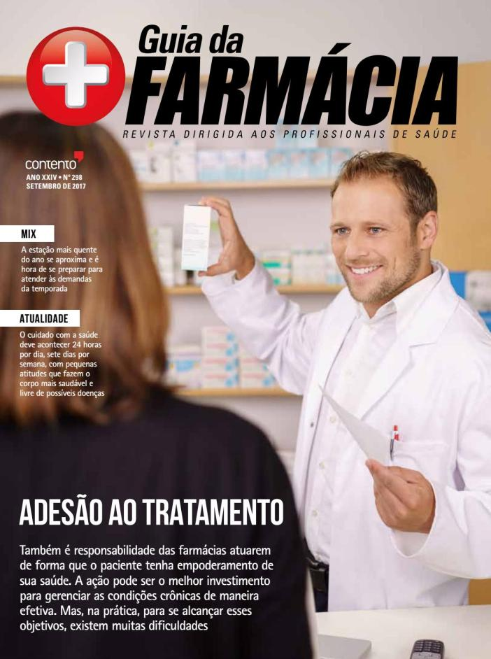 As farmácias na adesão ao tratamento
