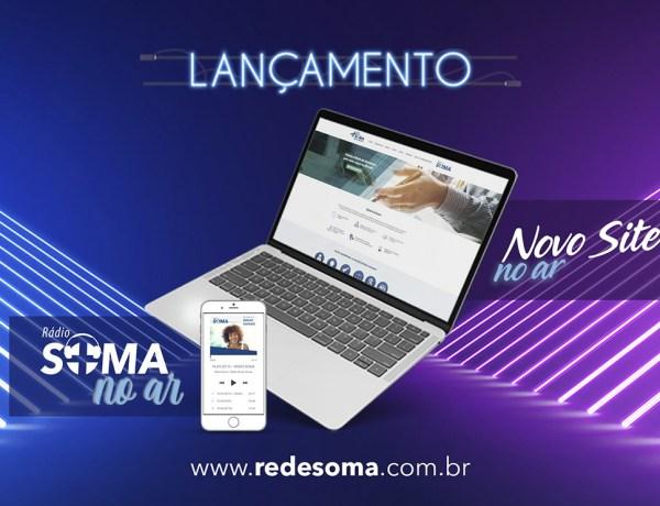 Rede Soma Drogarias lança seu novo site com proposta de modernidade
