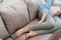 dor nas pernas lombar e estômago