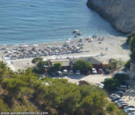 Cantarrijan y El Muerto son dos playas naturistas de Almuñécar