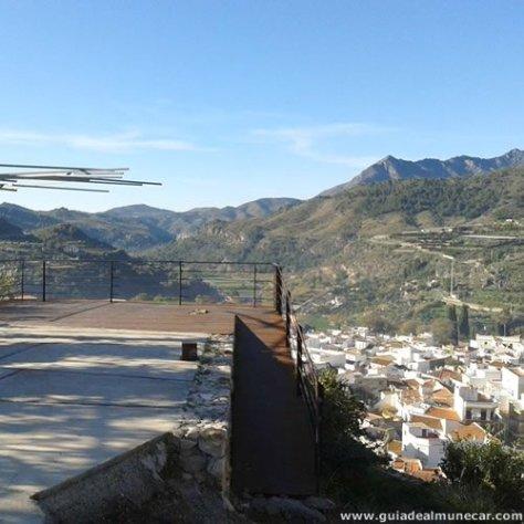 Vistas desde el Castillo de los Ulloa, Vélez de Benaudalla.