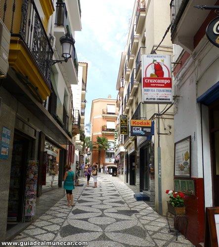 Casco histórico de Almuñécar calle real