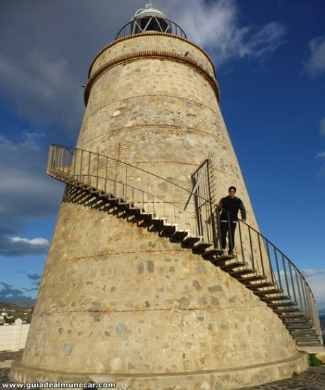 Faro de La Herradura o Faro de La Punta de la Mona, Almuñécar.