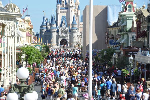 Disney crowded