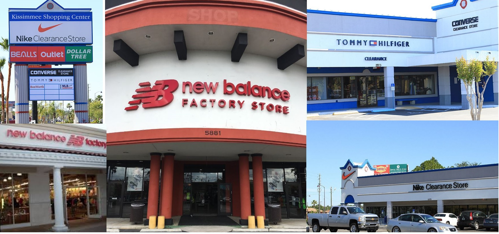 servicio duradero comprar el más nuevo Venta barata Guía de Compras OrlandoNew Balance ®, Nike ® y Converse ...