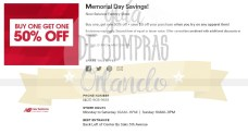 Memorial Day Sales International Premium Outlets 2017_11
