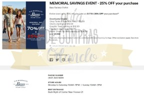 Memorial Day Sales International Premium Outlets 2017_14