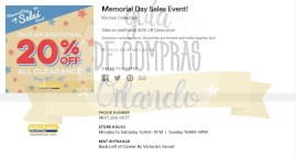 Memorial Day Sales International Premium Outlets 2017_2