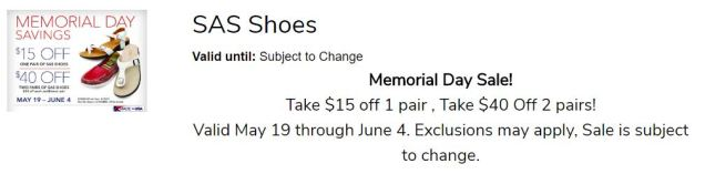 Memorial Day SAS Shoes LBVFS 8