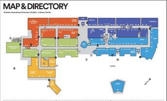 orlando international premium outlets Mapa1