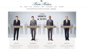 Brooks Brothers Trajes