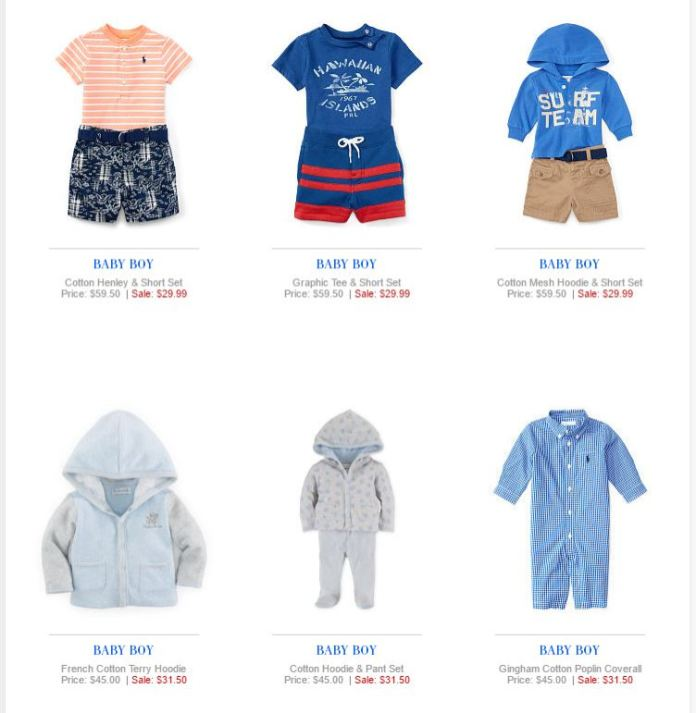 Baby Boy Polo Ralph Lauren 24