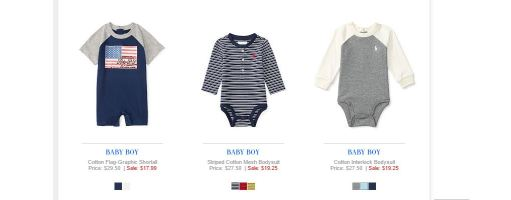 Baby Boy Polo Ralph Lauren 9