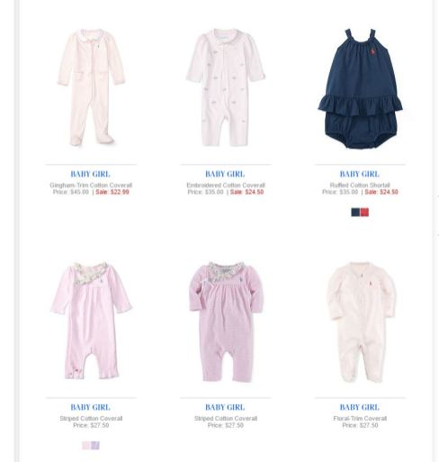Baby Girl Polo Ralph Lauren 17
