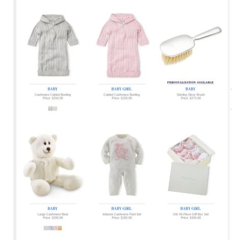 Baby Girl Polo Ralph Lauren 6