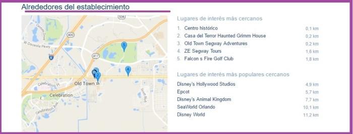 Celebration Suites Mapa