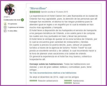 Clarion Inn Lake Buena Vista Opiniones Viajeros 8