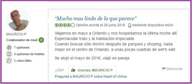 Heart of I Drive Opiniones Viajeros