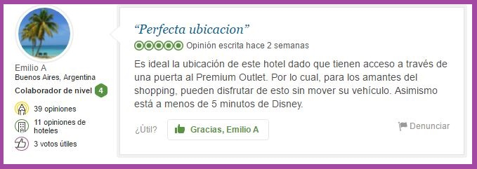 Hilton Grand Vacations at Tuscany Village Opiniones Viajeros