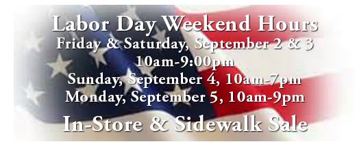 labor day weekend hours lake buena vista factory store
