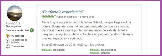 Lake Buena Vista Resort Village and Spa, a staySky Hotel & Resort Opiniones Viajeros 11