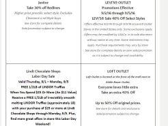Deals Lake Buena Vista Factory Store Septiembre 04