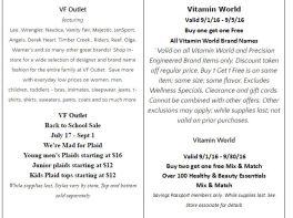Deals Lake Buena Vista Factory Store Septiembre 10