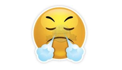 Emoji Frustración