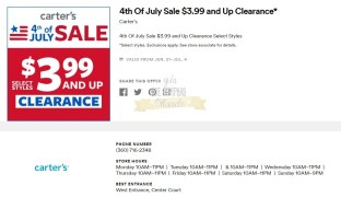 Cupones Premium Outlets 4th of July 12