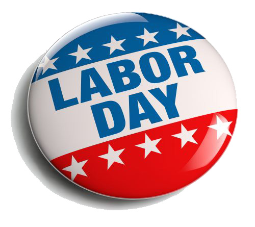 Labor Day Pin