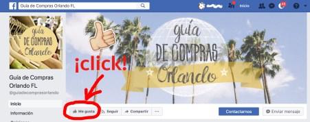 Me Gusta Pagina de Facebook GCO