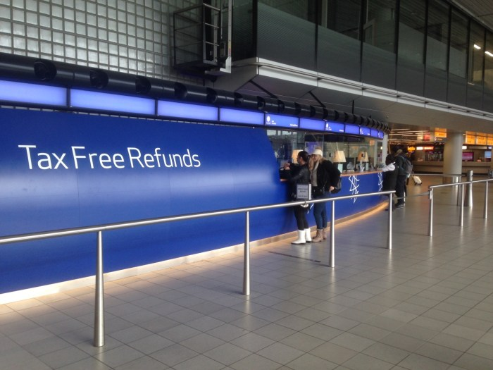 Tax Free Refunds