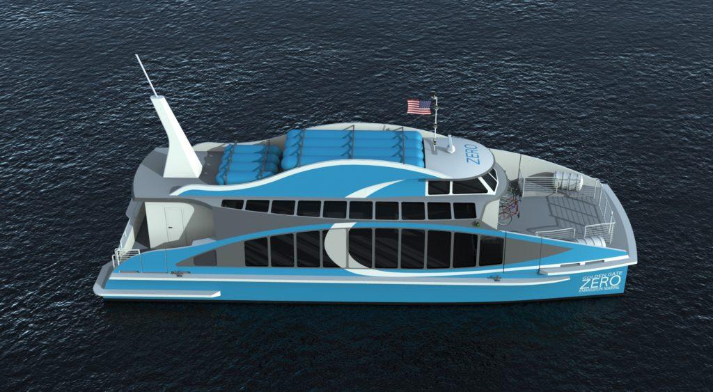 Desarrollan primer buque a hidrógeno de EE.UU.