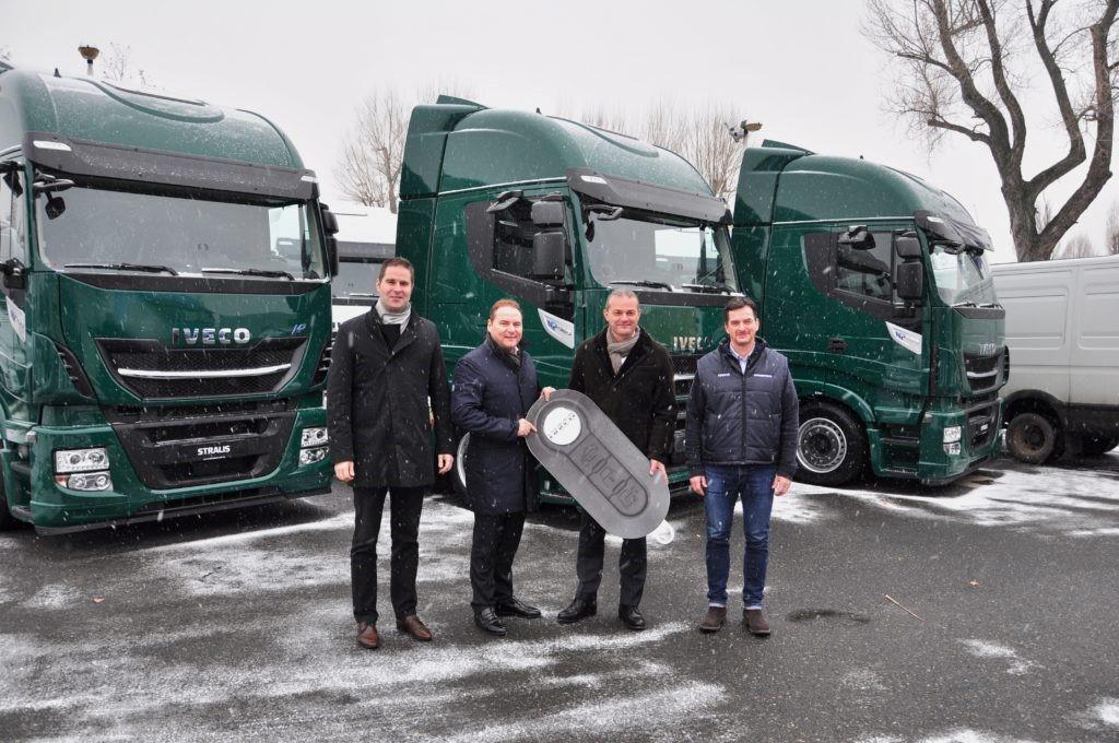 Primeros vehículos a GNL ruedan en Hungría