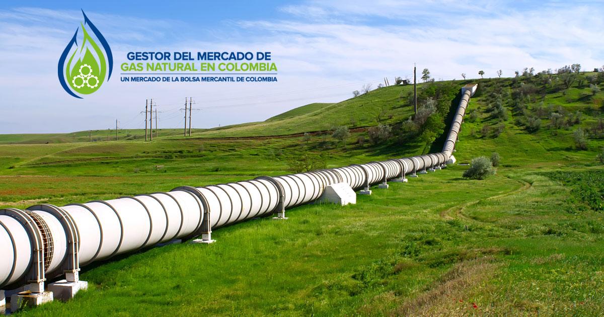 Oferta de gas natural en Colombia aumentó 16% en 2018