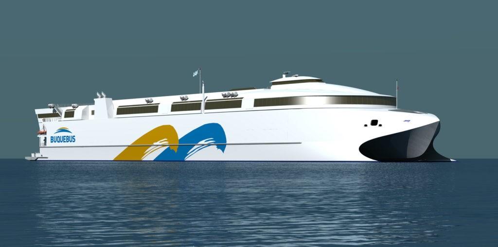 Mayor barco de aluminio del mundo funcionará con GNL