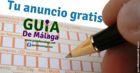 Anuncios Gratis en la Guía de Málaga, Andalucía, España.